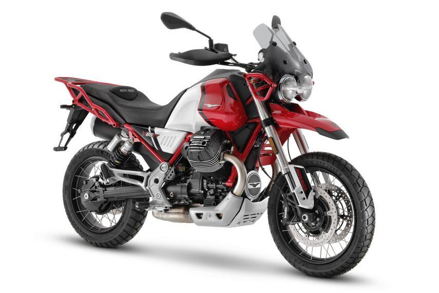 Moto Guzzi V85 TT 2021, la trail de Mandello del Lario se actualiza por dentro