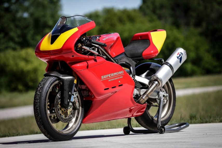 Moto del día: Ducati Supermono