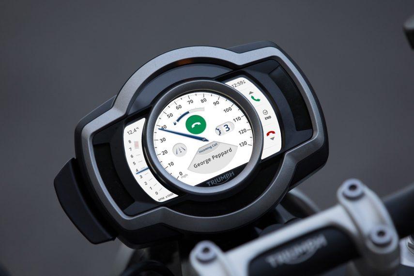 Triumph da el salto mejorando la conectividad de sus modelos