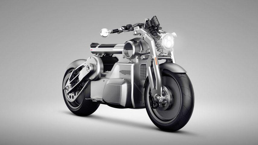 Curtiss Zeus, la primera moto eléctrica de la marca