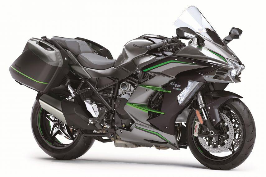 "Kawasaki Ninja H2 SX SE+, turismo ""fast forward"""