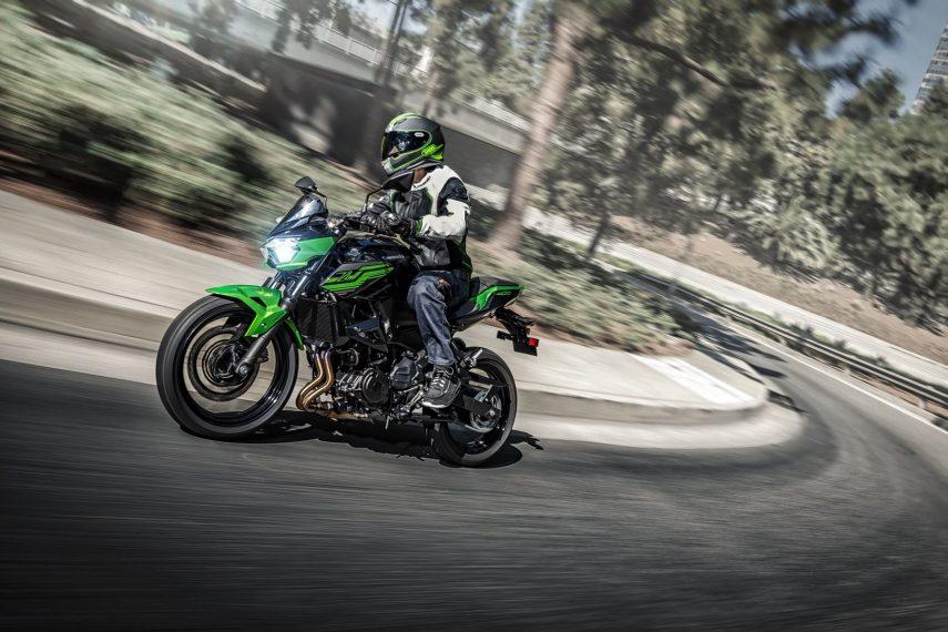 Ya disponibles las nuevas Kawasaki Z 400 y Versys 1000 SE 2019