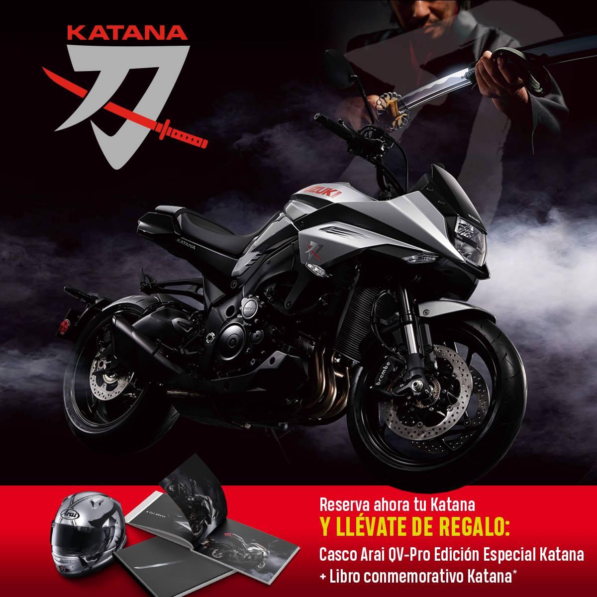 Suzuki Katana 2019 Promo