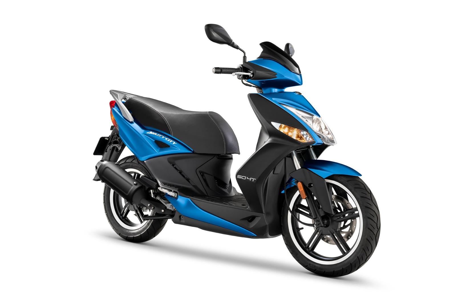 KYMCO Agility City 50 2021, el superventas entre los ciclomotores estrena Euro 5 y colores