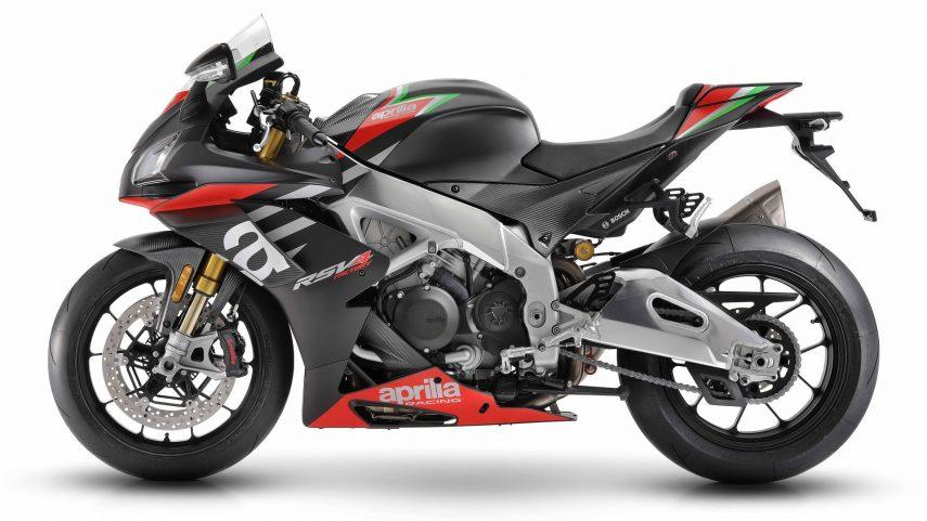 La Aprilia RSV4 1100 Factory 2020 recibe suspensiones semiactivas