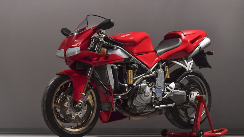 Moto del día: Ducati 998 2WD