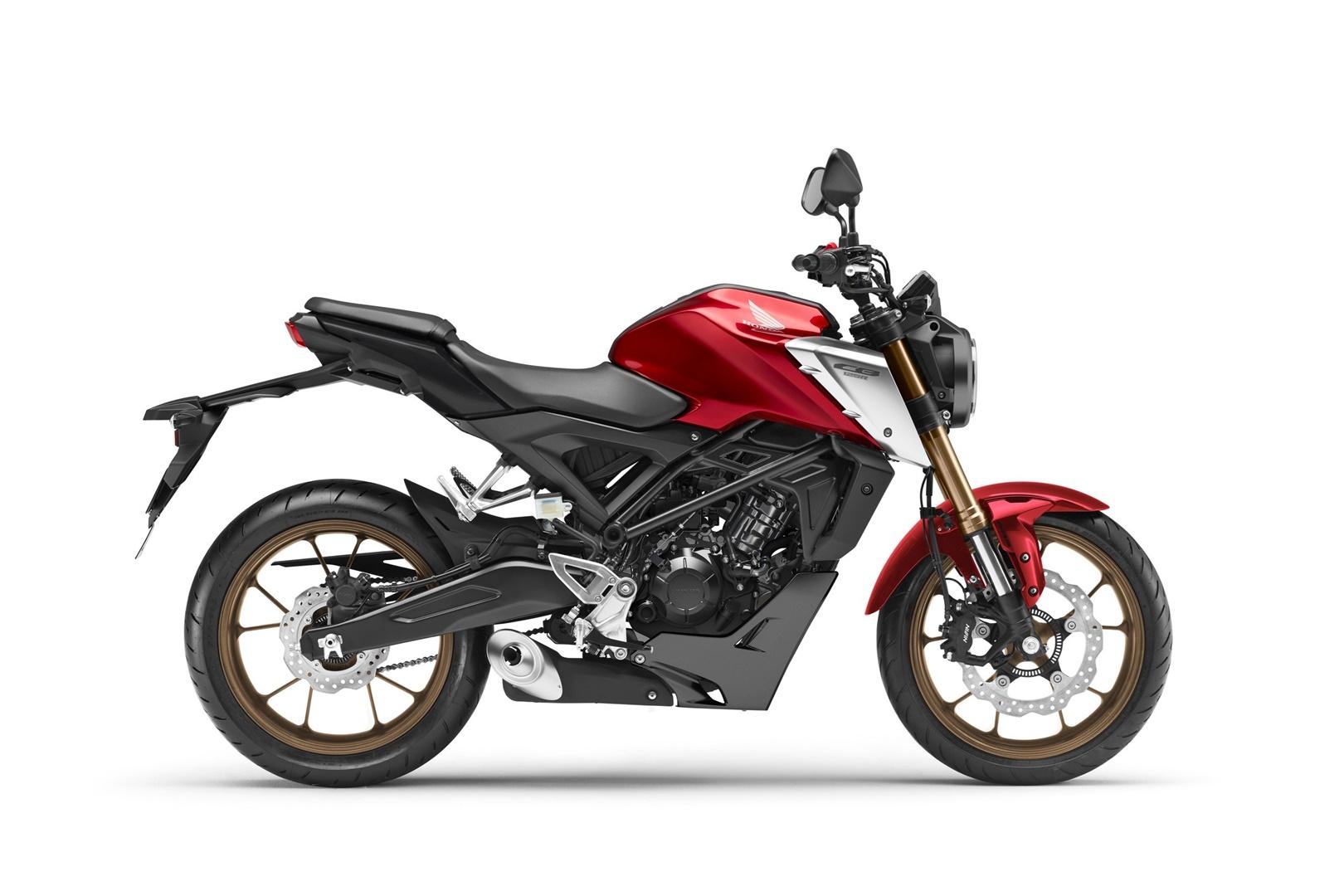 Honda CB 125 R 2021, la más pequeña de las Neo Sports Cafe vuelve más madura