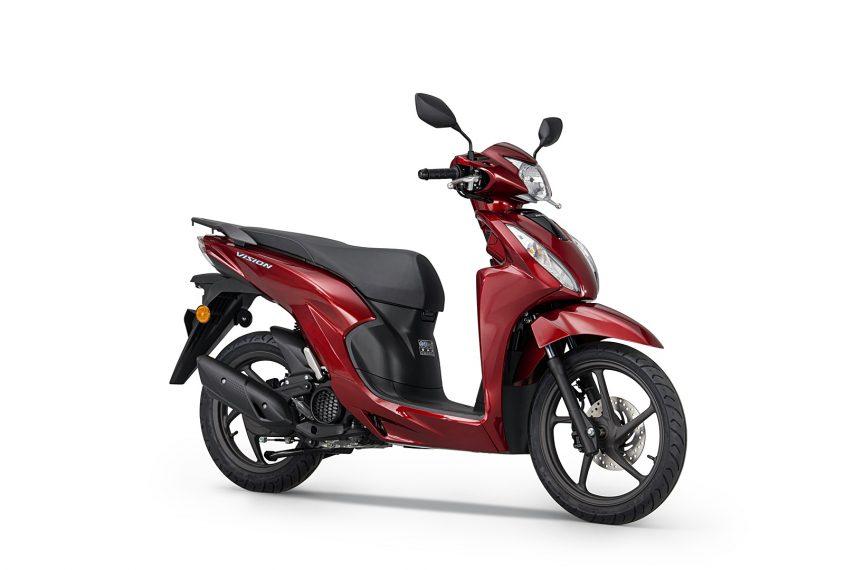 Honda Vision 110 2021, el scooter japonés para el día a día