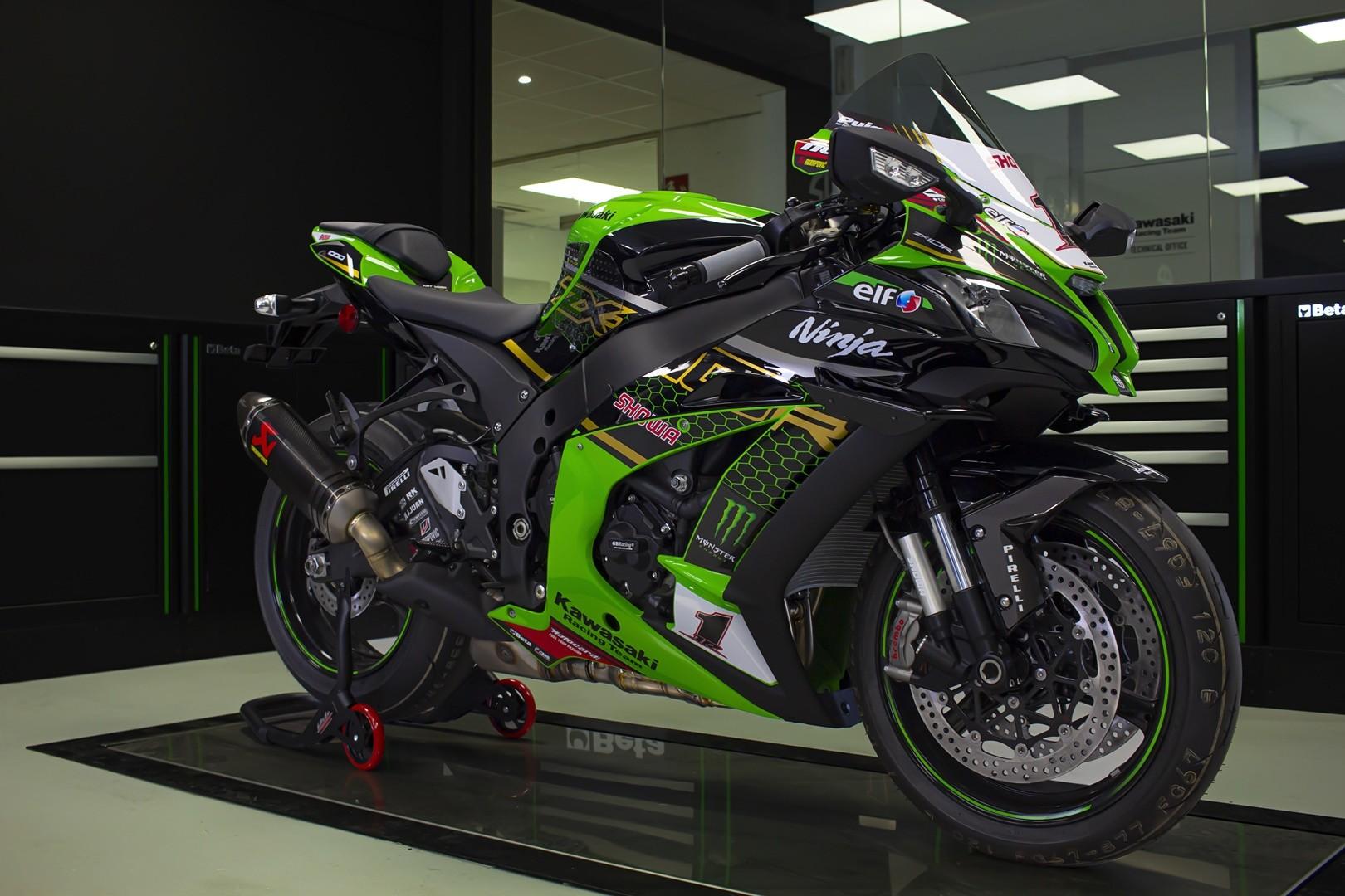 Kawasaki Ninja ZX-10R KRT Limited Edition, homenaje a las Superbikes
