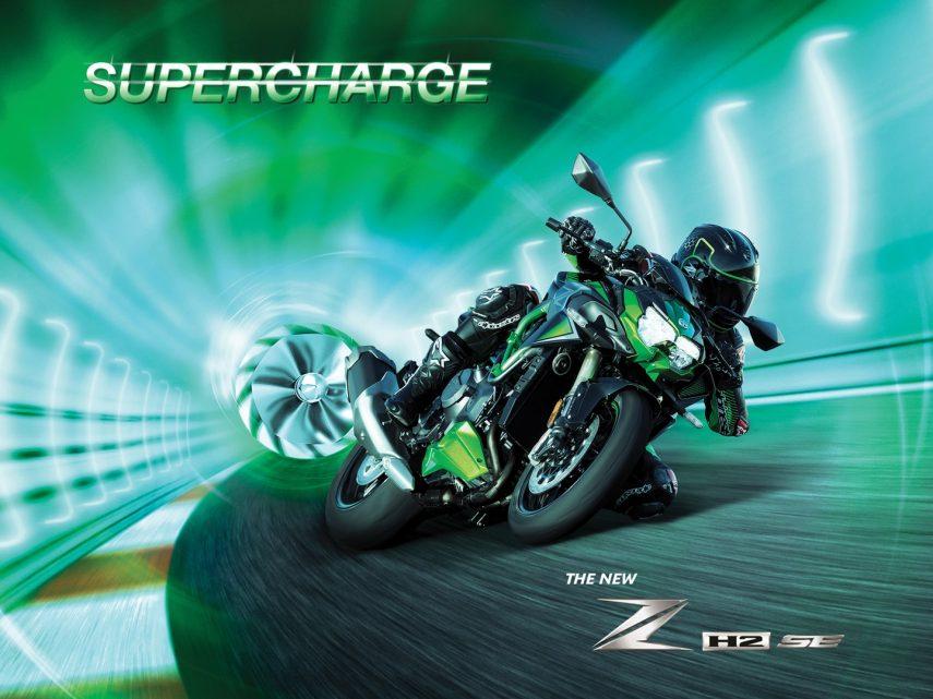 La Kawasaki Z H2 SE 2021 recibe suspensiones electrónicas y mejores frenos