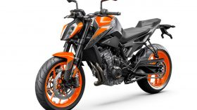 KTM 890 DUKE Studio orange front left