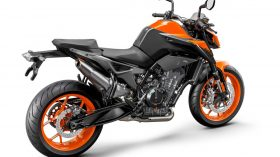 KTM 890 DUKE Studio orange rear right