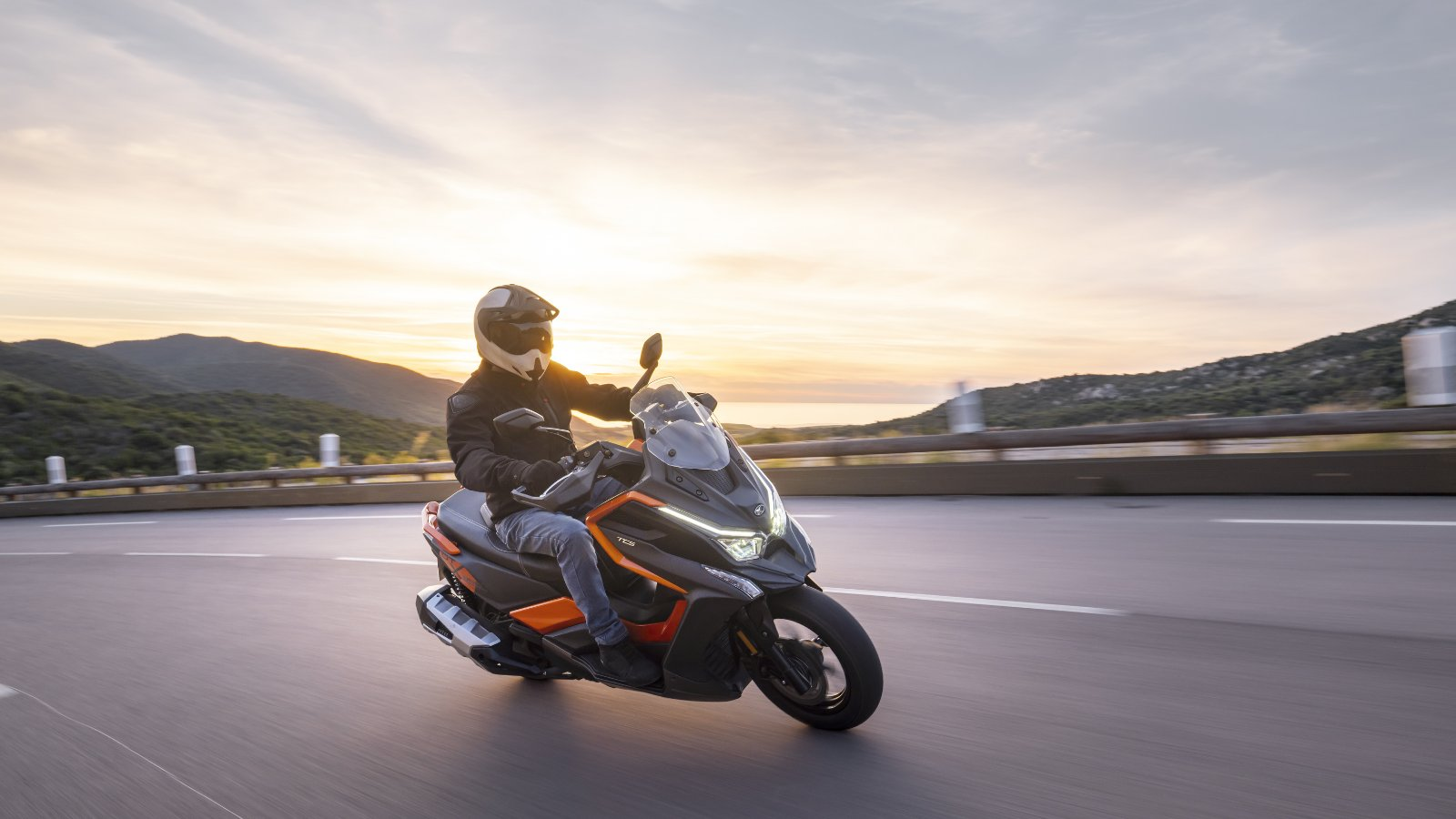 "KYMCO DT X360 2021, el primer scooter ""Adventure Crossover"""