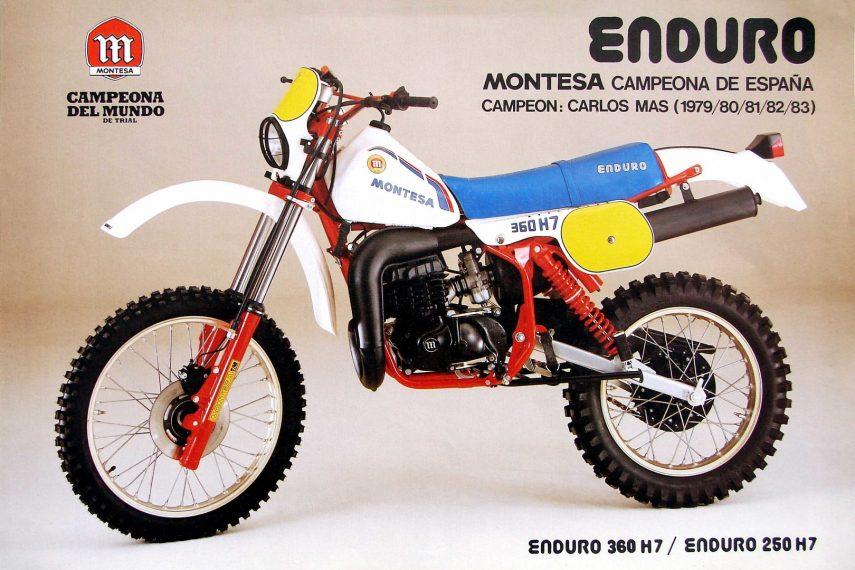 Moto del día: Montesa Enduro 360 H7