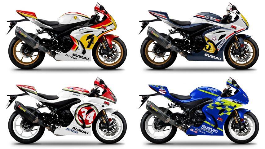 Suzuki Italia pone a la venta siete decoraciones por los siete títulos del mundo