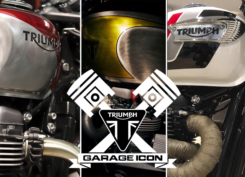 Triumph 'Garage Icon' 2020, elige tu favorita y llévate 250 euros de regalo