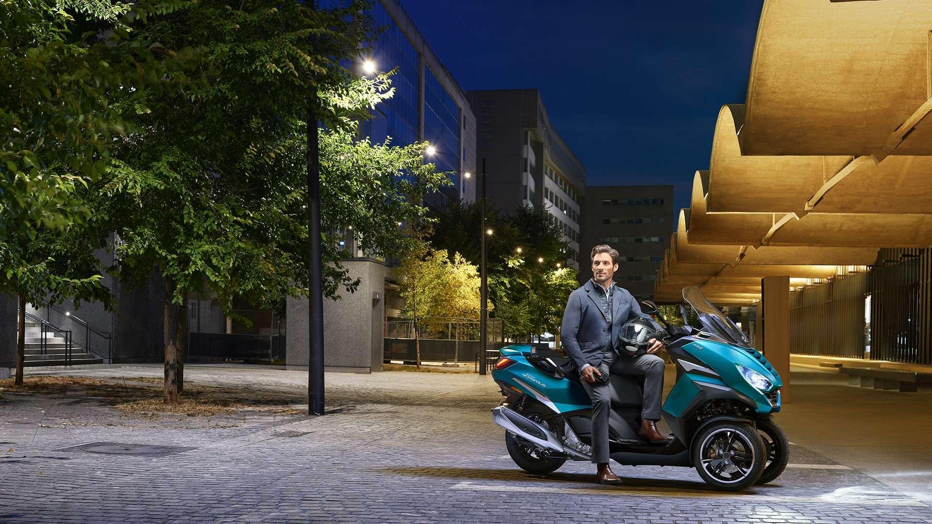New Peugeot Metropolis Lifestyle Man LR