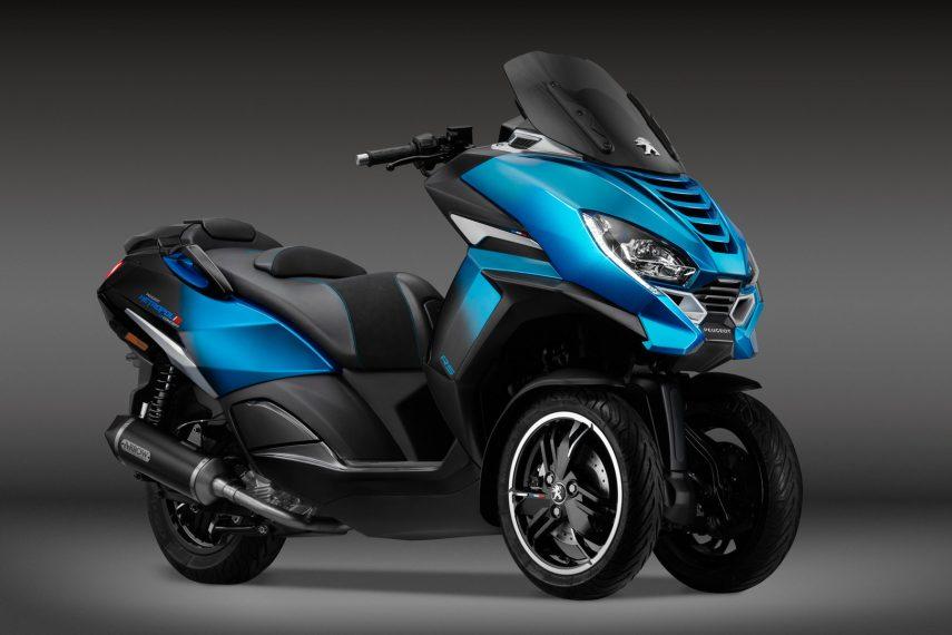Peugeot Metropolis RS Concept, así será la próxima generación del tres ruedas francés