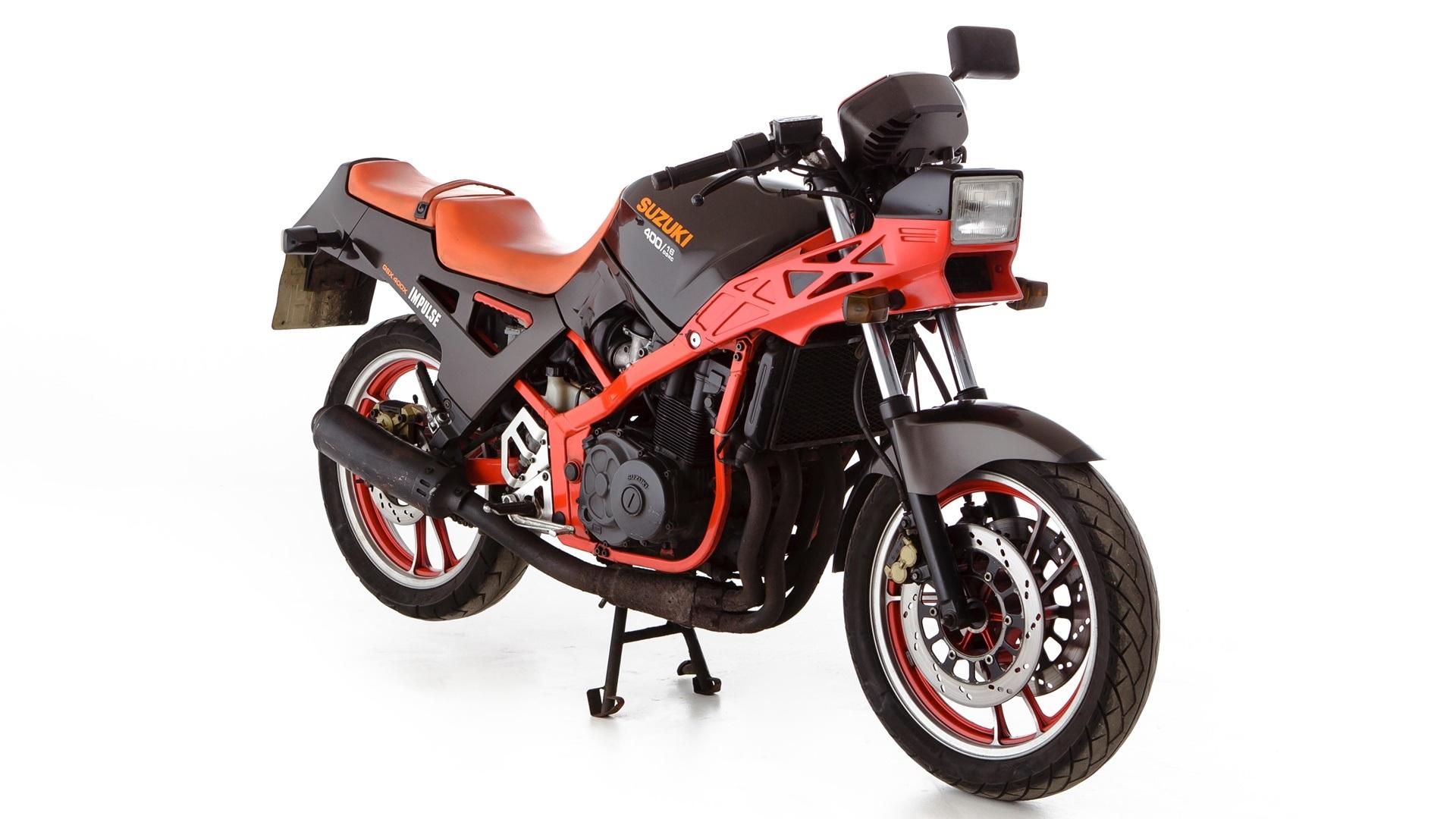 Moto del día: Suzuki GSX 400 X Impulse (GK71E)