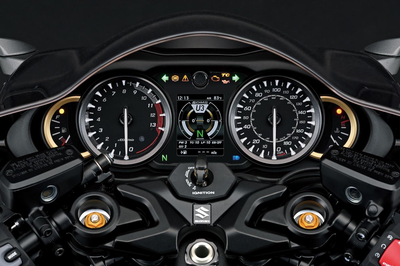 Suzuki Hayabusa 1300 2021 Tech 33