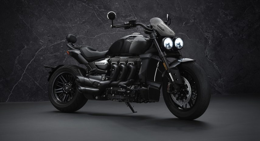 Triumph Rocket 3 R Black 26