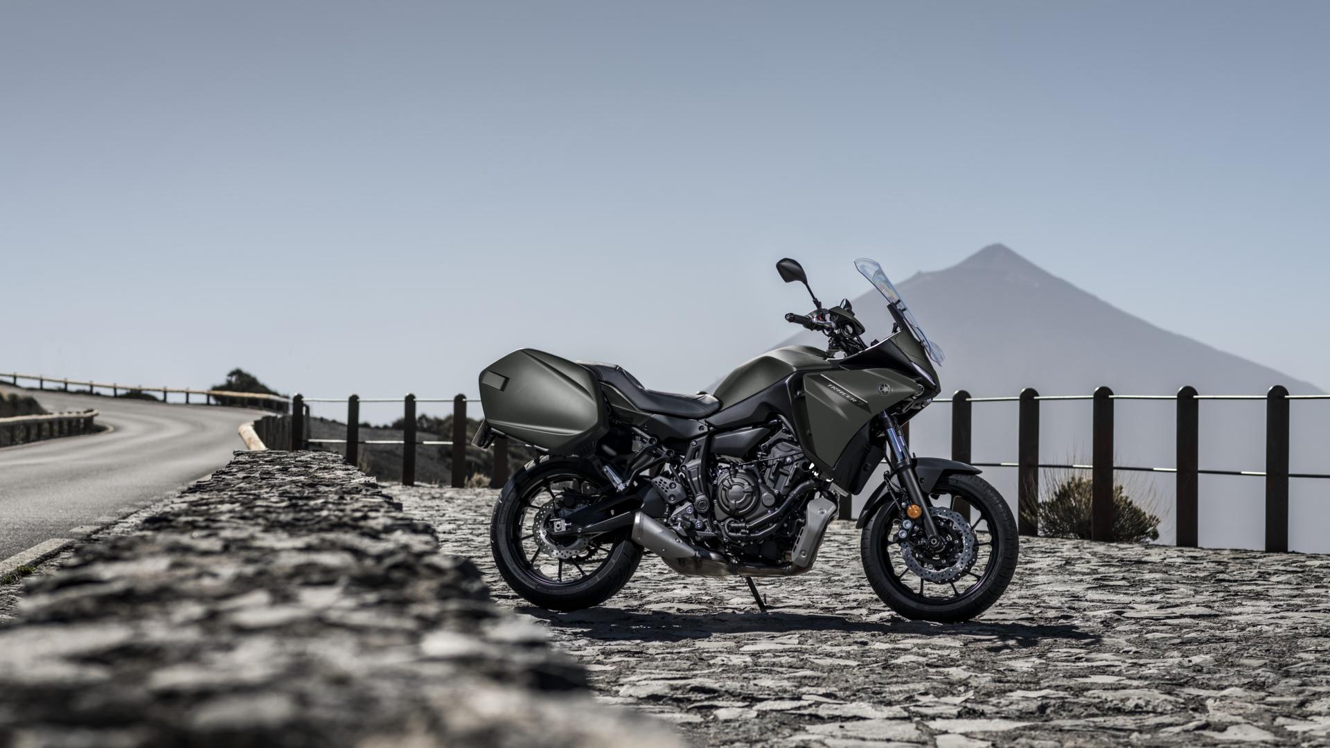 Yamaha Tracer 7 GT 2021: la versión más turística de la familia