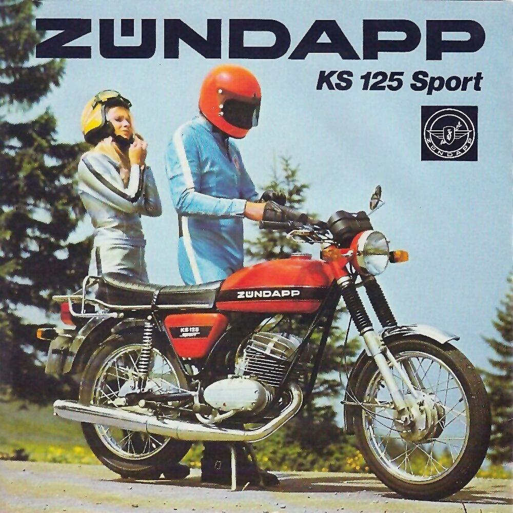 Zundapp KS 125 Sport 5