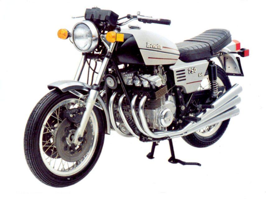 Moto del día: Benelli 750 Sei