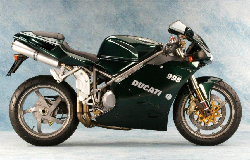 Moto del día: Ducati 998 Matrix Edition