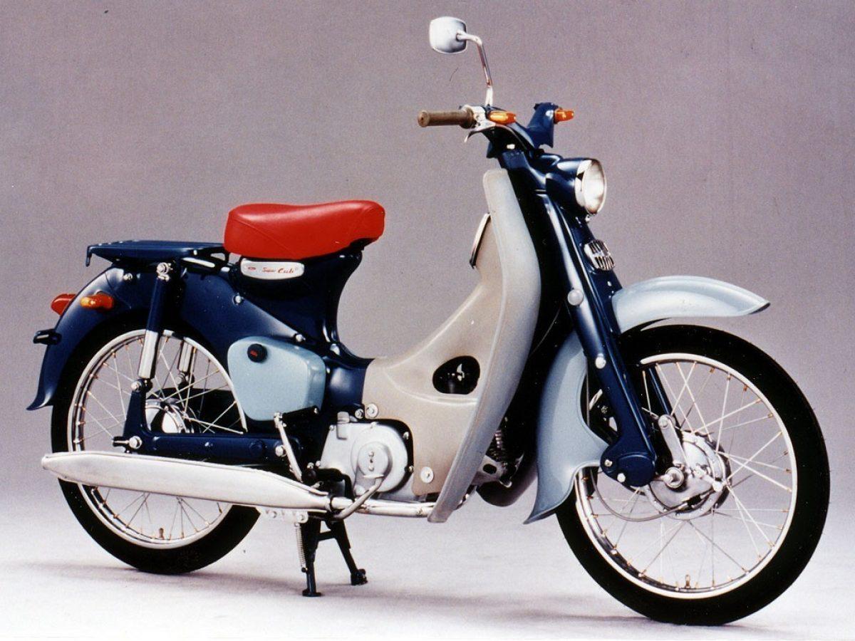 Moto Del Dia Honda Super Cub Espiritu Racer Moto