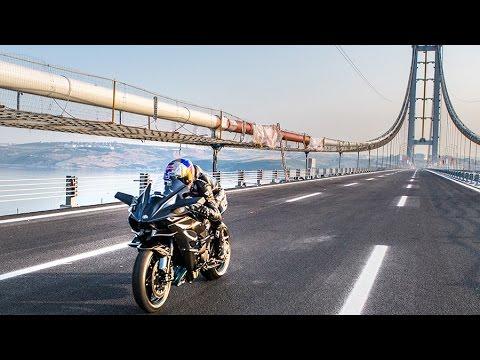 Cuando la Kawasaki Ninja H2R alcanzó 400 km/h…