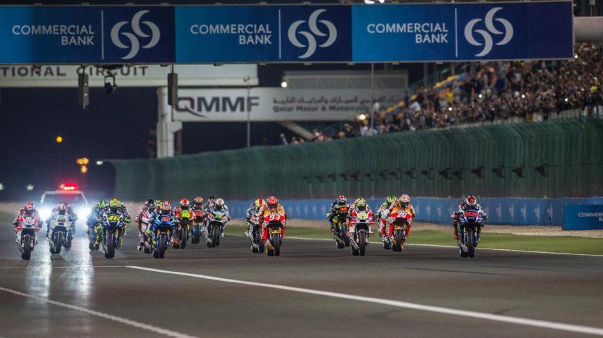 Comienza la temporada de MotoGP en Catar