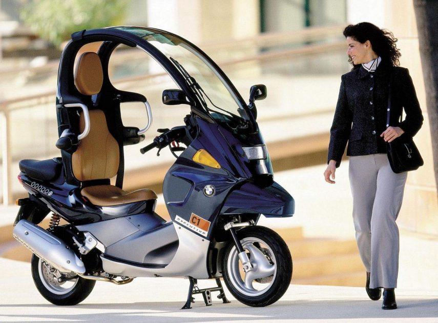 Moto del día: BMW C1