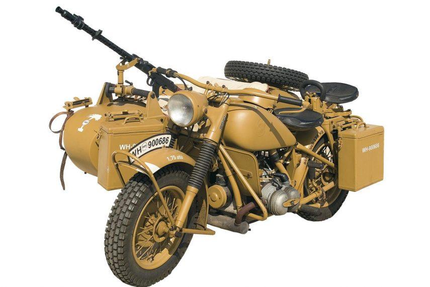 Moto del día: BMW R 75 (militar)