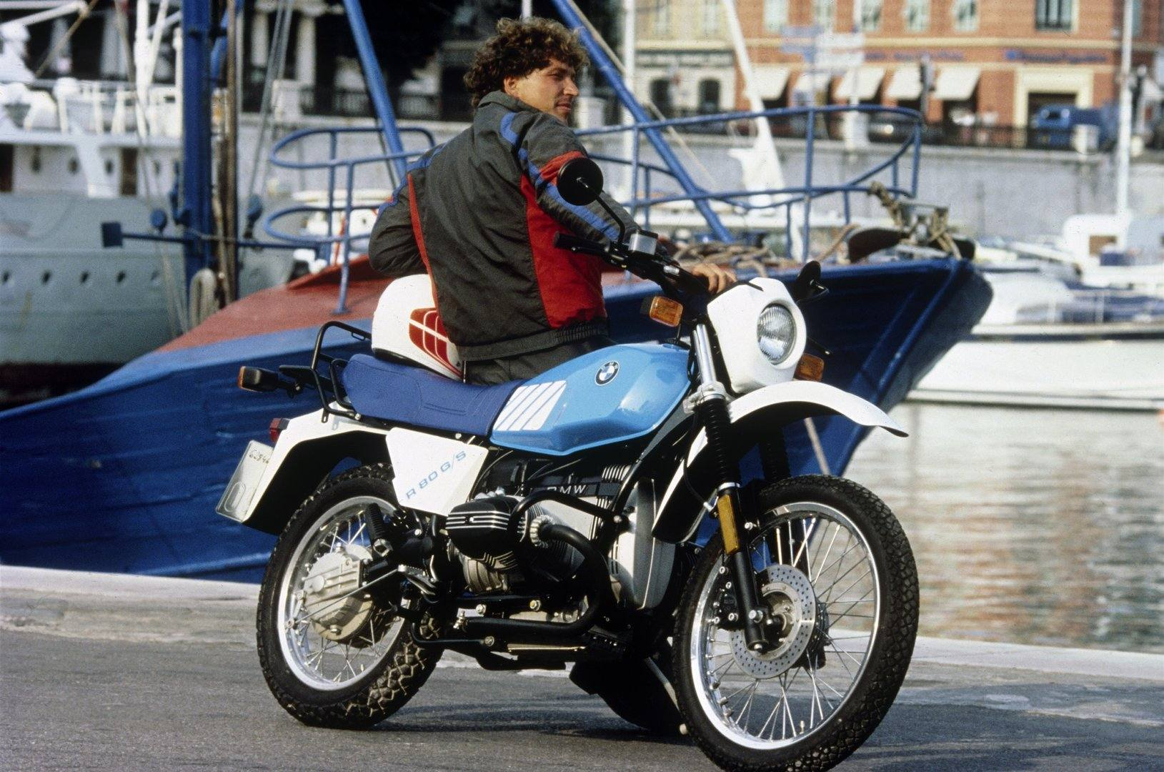 Moto del día: BMW R 80 G/S