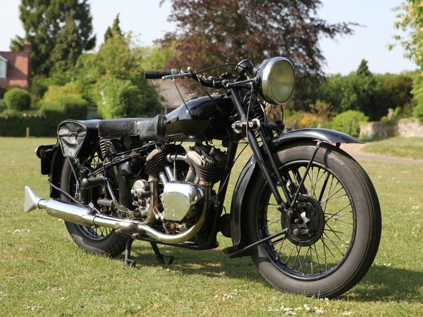 Moto del día: Brough Superior 11.50