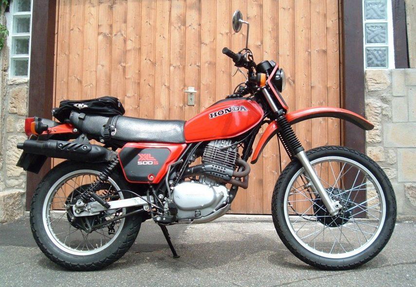 Moto del día: Honda XL500S