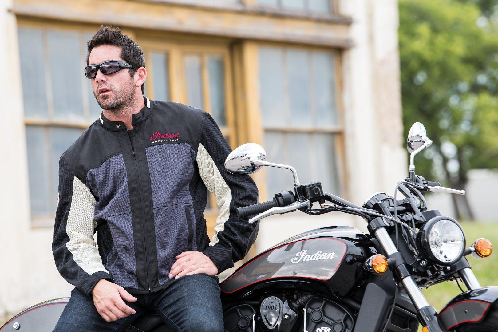 Accesorios Indian - chaqueta Drifter Mesh y gafas Performance