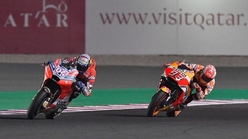 Dovizioso y su Ducati ganan en MotoGP en Qatar