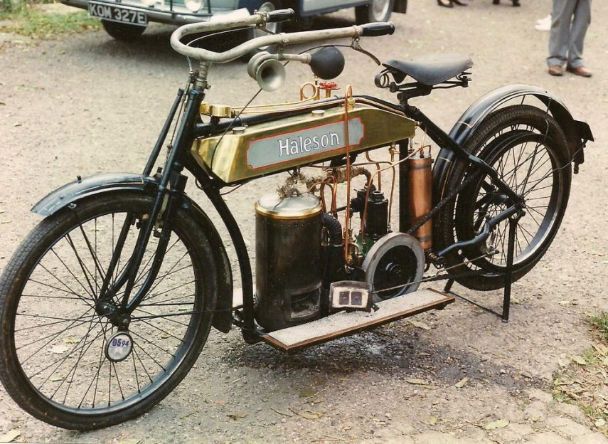 Moto del día: Haleson Steam Powered
