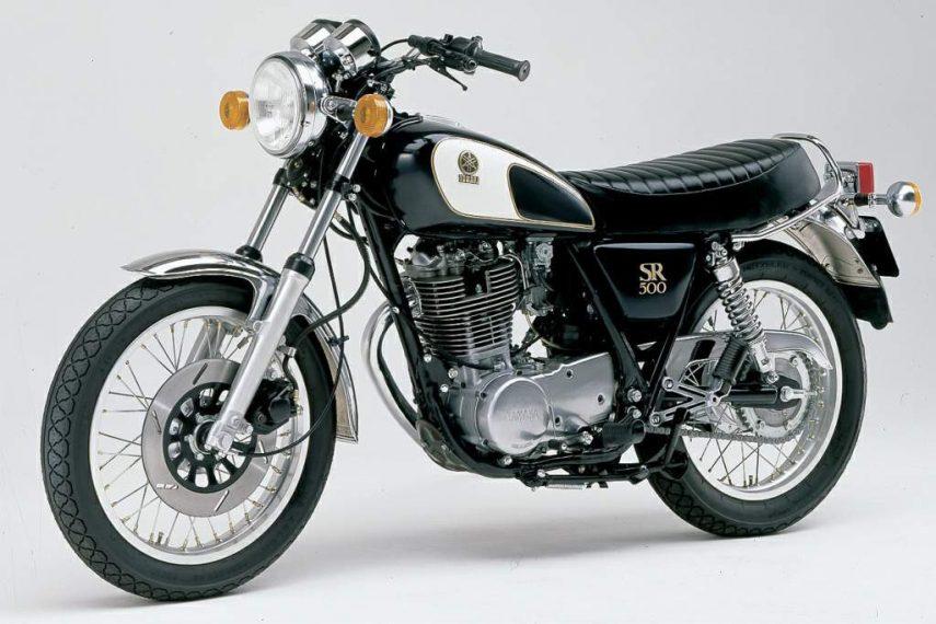 Moto del día: Yamaha SR500