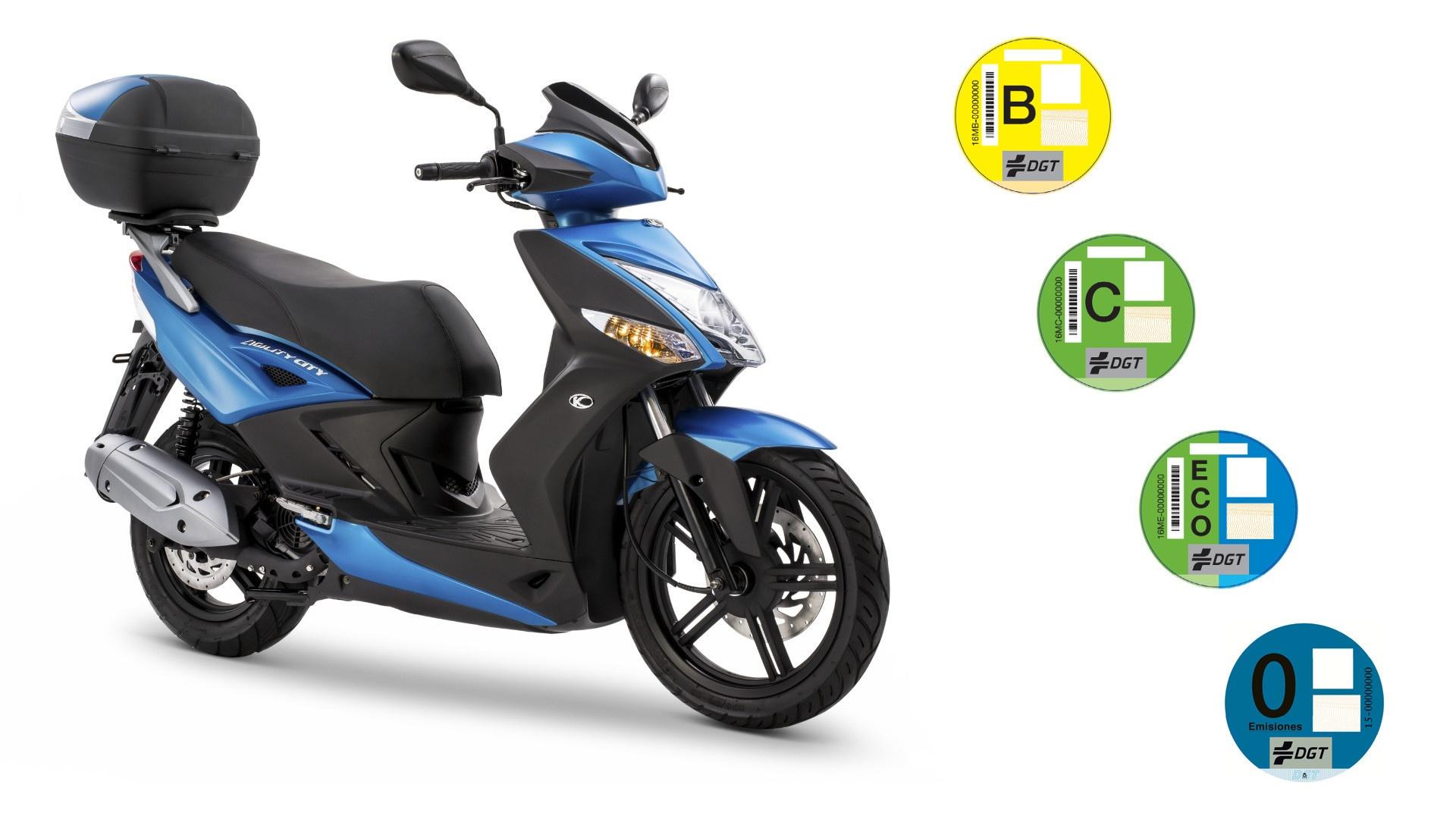 La clasificación medioambiental llega a las motos, triciclos y cuadriciclos