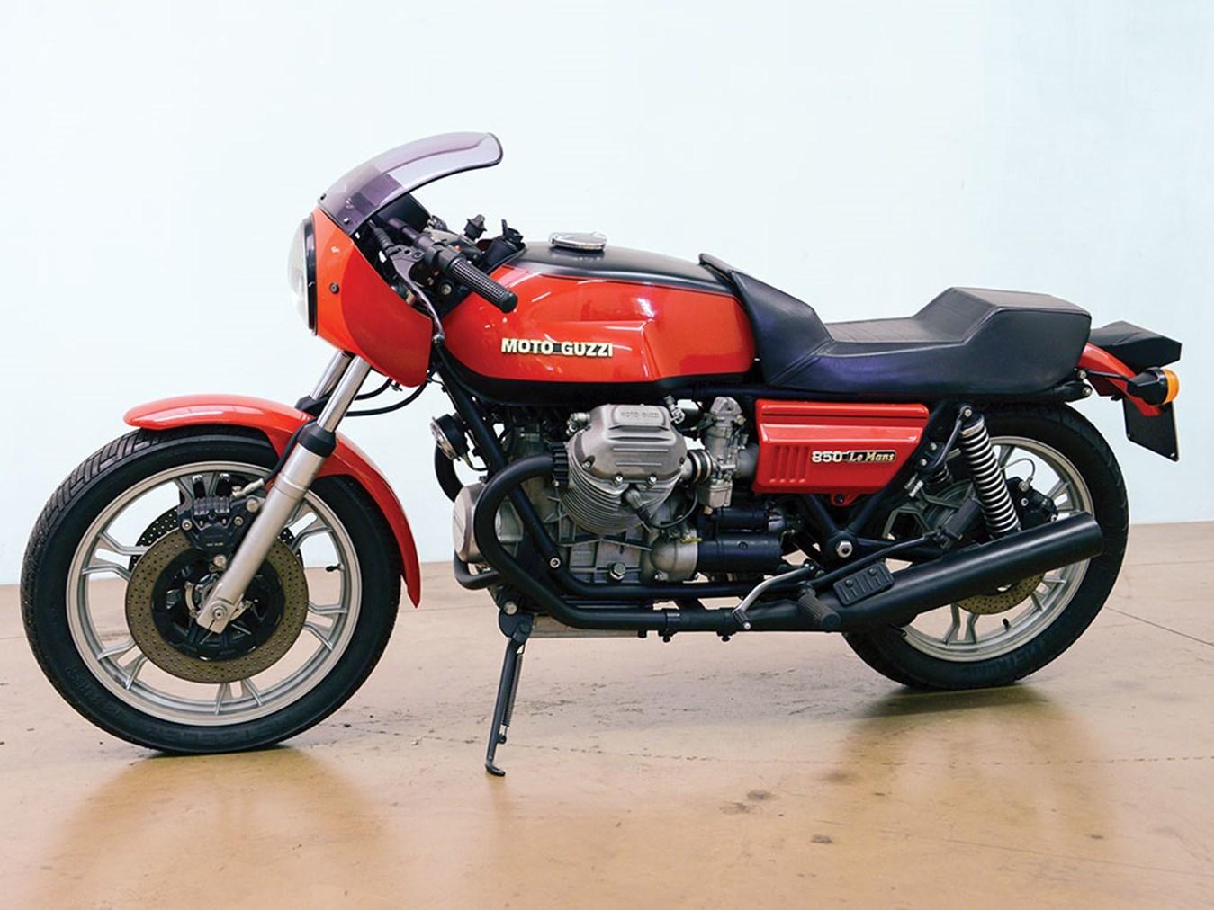 Moto del día: Moto Guzzi Le Mans 850