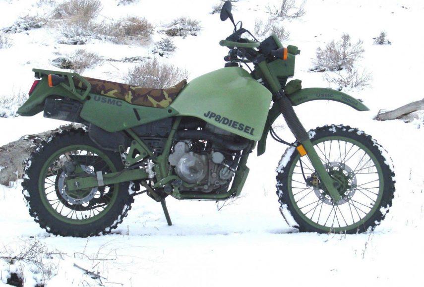 Moto del día: Kawasaki M103M1