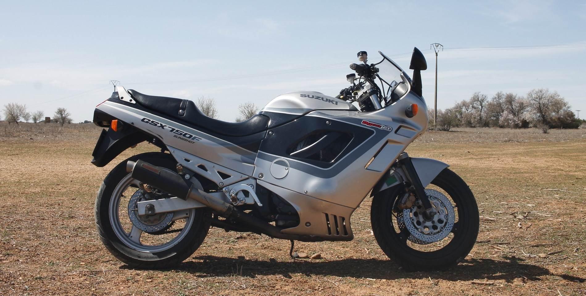 Moto del día: Suzuki GSX 750F