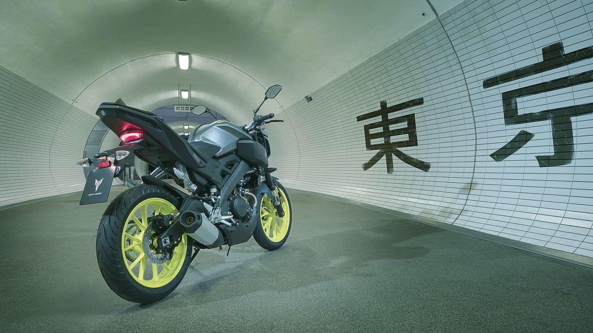 Yamaha MT 125 11