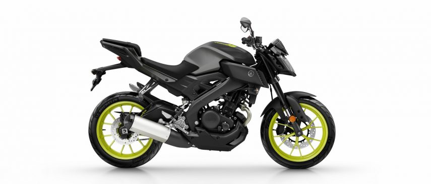 Moto del Día: Yamaha MT-125