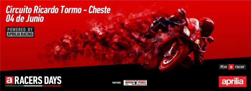 Aprilia Racer Day: Rueda en el circuito de Cheste gratis por cortesía de la marca italiana