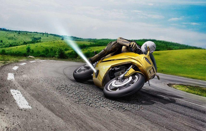 Este nuevo control de estabilidad para motos es casi de ciencia ficción