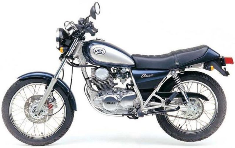 Moto del día: Yamaha SR 250